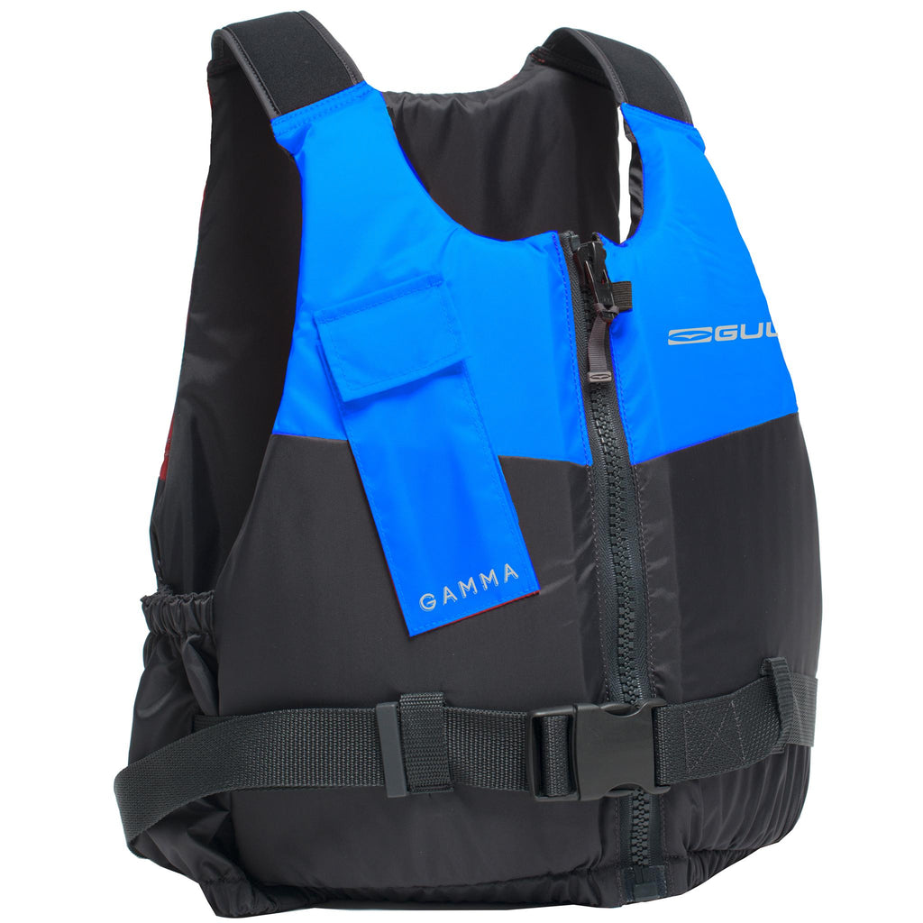 Gul Gamma Front Zip 50N Buoyancy Aid | Blue/Grey Front
