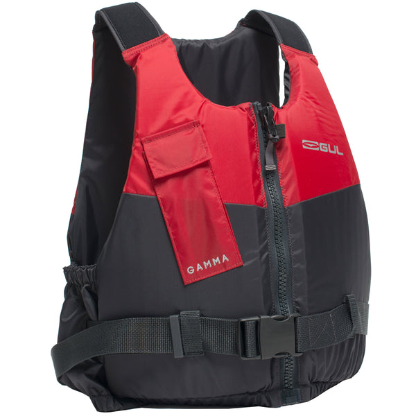 Gul Gamma Front Zip 50N Buoyancy Aid | Red/Grey