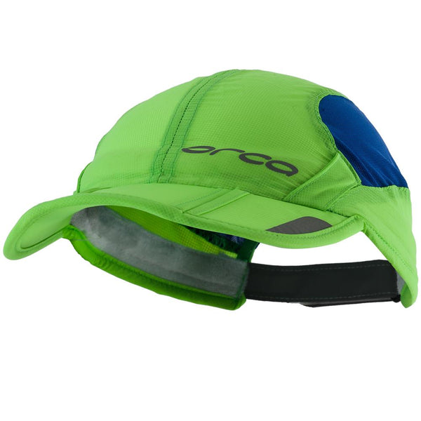 Orca Foldable Triathlon Cap Green Blue