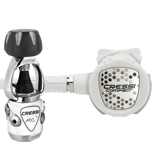 Cressi XS Compact MC9 Dive Regulator INT in White