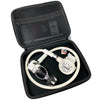 Cressi XS Compact MC9 Dive Regulator INT in White in Padded Case