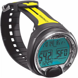 Cressi Leonardo Dive Computer | Black/Yellow
