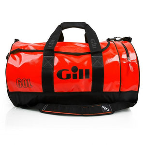 Gill 60L Tarp Barrel Bag | Red