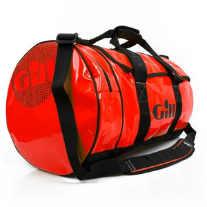 Gill 60L Tarp Barrel Bag | Red Side