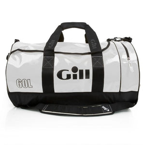 Gill 60L Tarp Barrel Bag | White