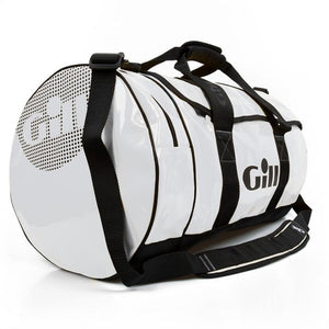 Gill 60L Tarp Barrel Bag | White Side