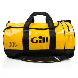 Gill 60L Tarp Barrel Bag | Yellow