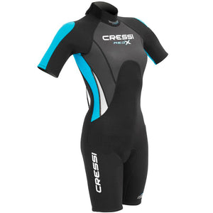 Ladies Cressi Med X Shorty Wetsuit