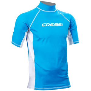 Cressi Mens Short Sleeve UV50 Rash Vest