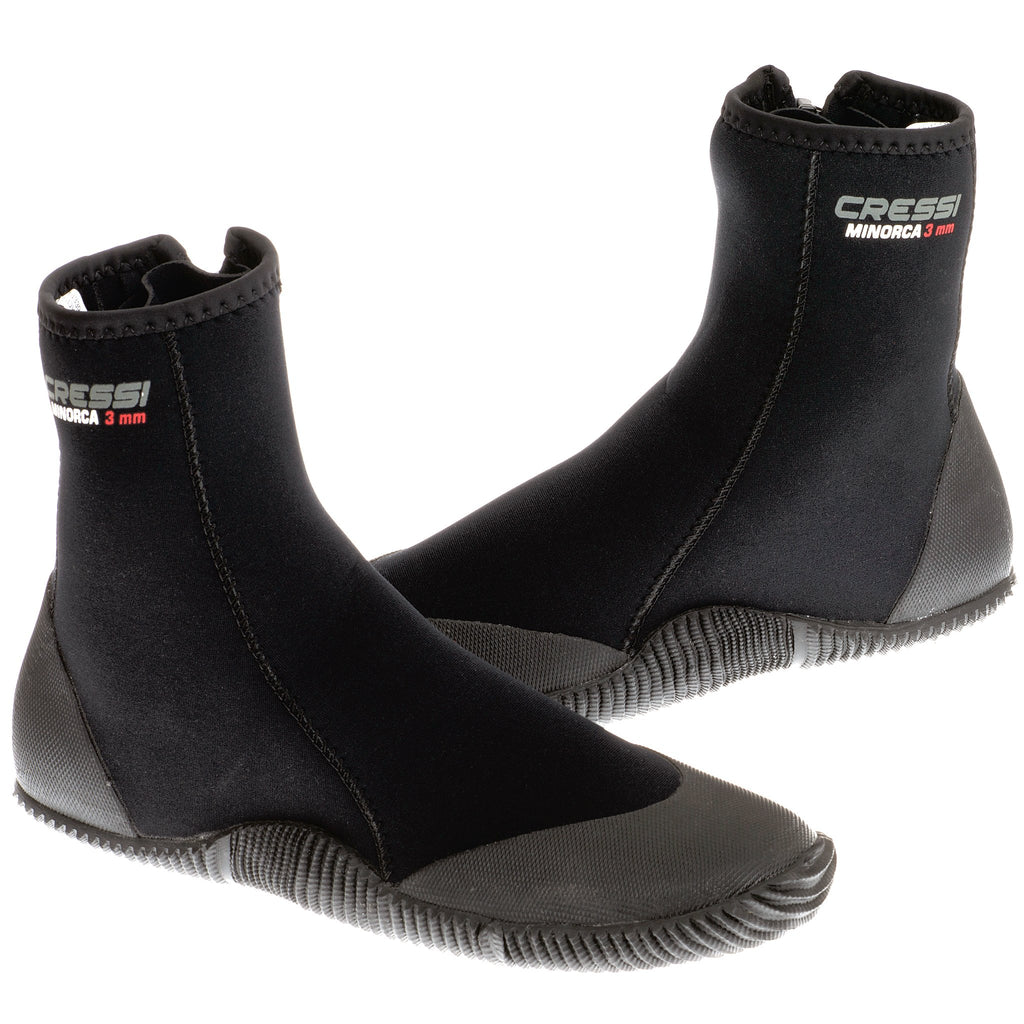 Cressi Isla Minorca 3mm Zipped Wetsuit Boots - Bundled Product