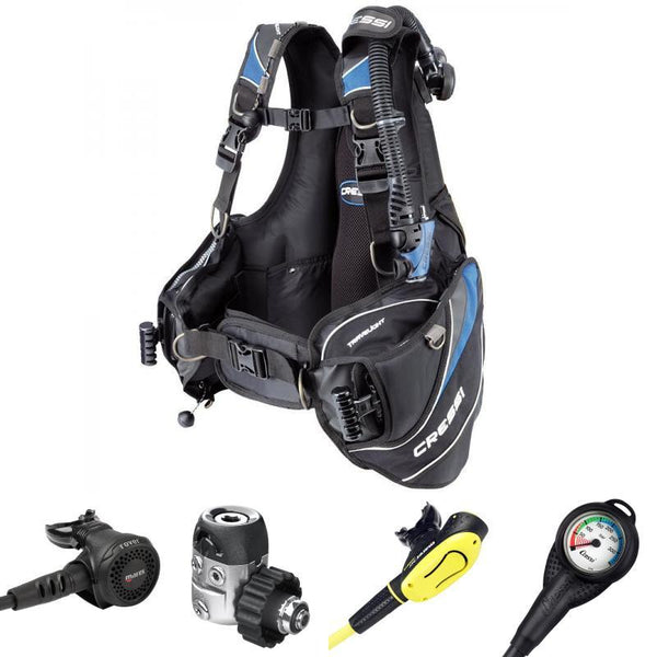 Cressi Travelight BCD & Mares Tropical Diver Package