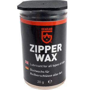McNett Max Wax Zipper Lubricant Gear Aid 20g.