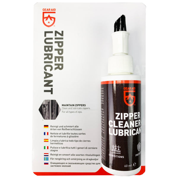Gear Aid by McNett Zip Care Lubricant and Zip Cleaner