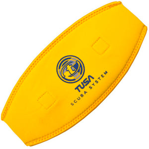 TUSA Neoprene Mask Strap Cover | Yellow