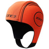 Zone3 Neoprene High Vis Orange Swim Cap