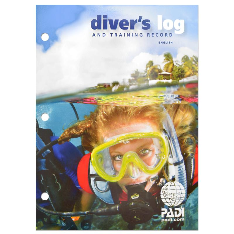 PADI Dive Log Book with Training Record