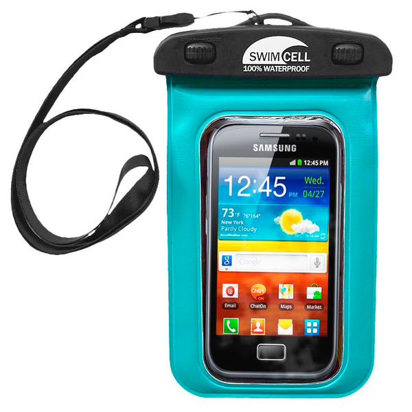 SwimCell Waterproof Mobile Phone Case | Blue