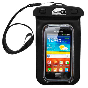 SwimCell Waterproof Mobile Phone Case | Black