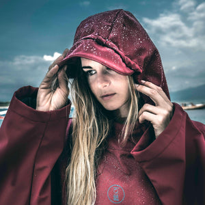 Fourth Element Storm Poncho | Lifestyle 2