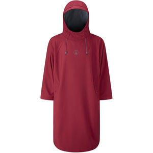 Fourth Element Storm Poncho | Burgundy