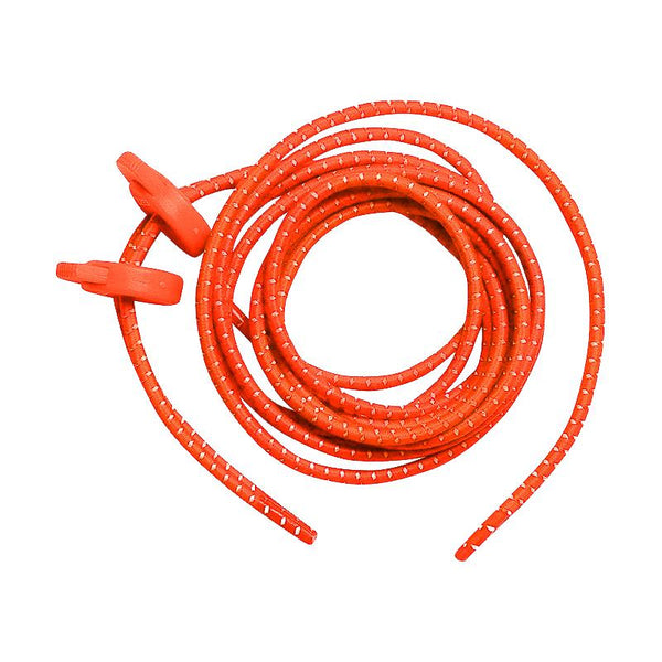 Zone3 Neon Elastic Laces - Orange