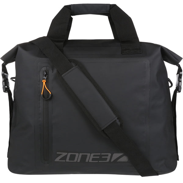 Zone3 Waterproof Wetsuit Bag in Black and Orange - Back