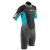Gul Response 3/2mm Junior Shorty Wetsuit | Grey Blue