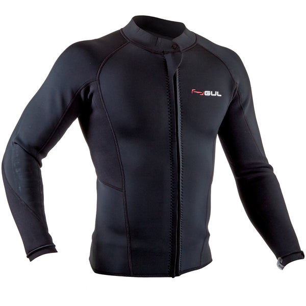 Gul Response 3/2mm Men's Wetsuit Jacket - Front
