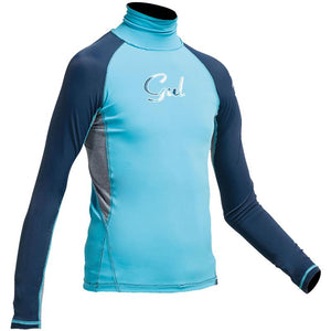 Gul Girls Long Sleeved Rash Vest