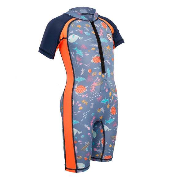 Gul UV Sunsuit Short Sleeve Junior Rash Suit