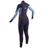 Gul Response Echo 3/2mm Women's Chest Zip Wetsuit | Rear