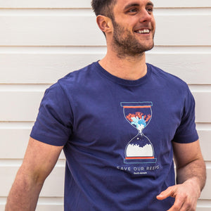 Fourth Element Reef T-Shirt | Modelled