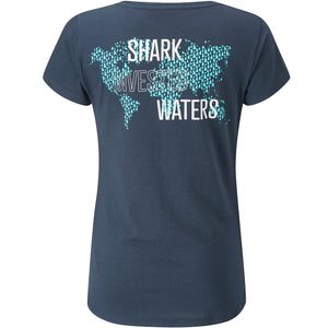 Woman's Fourth Element Shark Invested T-Shirt | Back