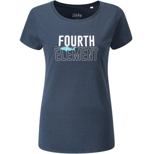 Woman's Fourth Element Shark Invested T-Shirt | Front