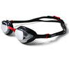 Zone3 Volare Race Goggles Mirrored Lens | Black/Red