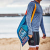 Zone3 Large Mesh Swim Training Aids Kit Bag | Being carried