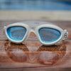Zone3 Vapour Polarised Blue Tinted Lens Goggles | Distortion Free Curved Lenses