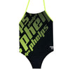 Phelps Zoe Girls Swimsuit Front