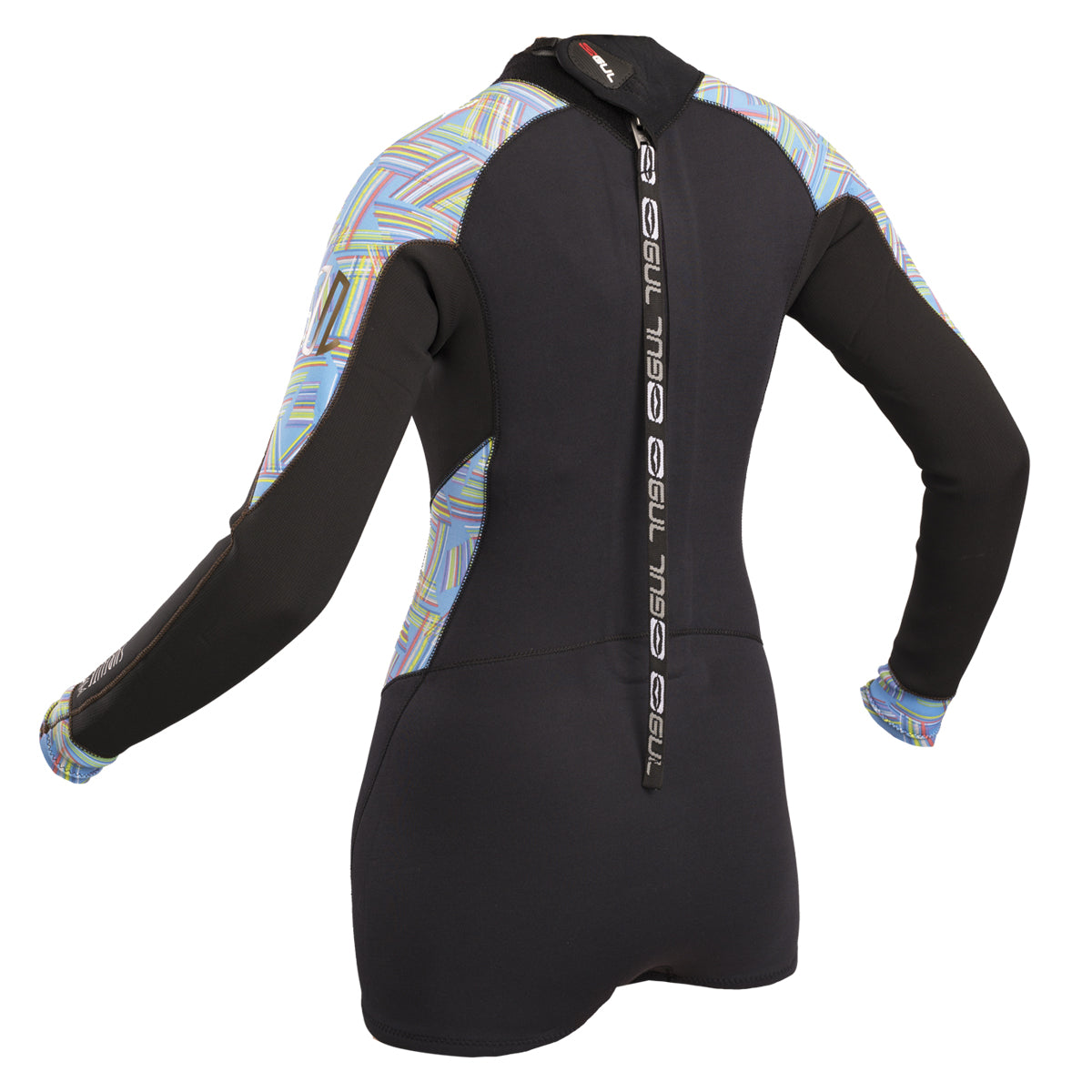 adb108b9d8 Gul Surflite Spring 2mm Long Sleeve Shorty Wetsuit