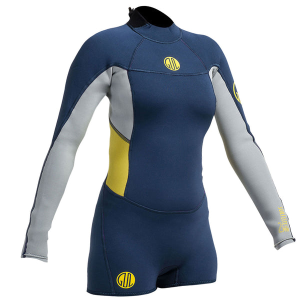 e5ecd68368 Gul Surflite Spring 2mm Long Sleeve Shorty Wetsuit – Watersports ...