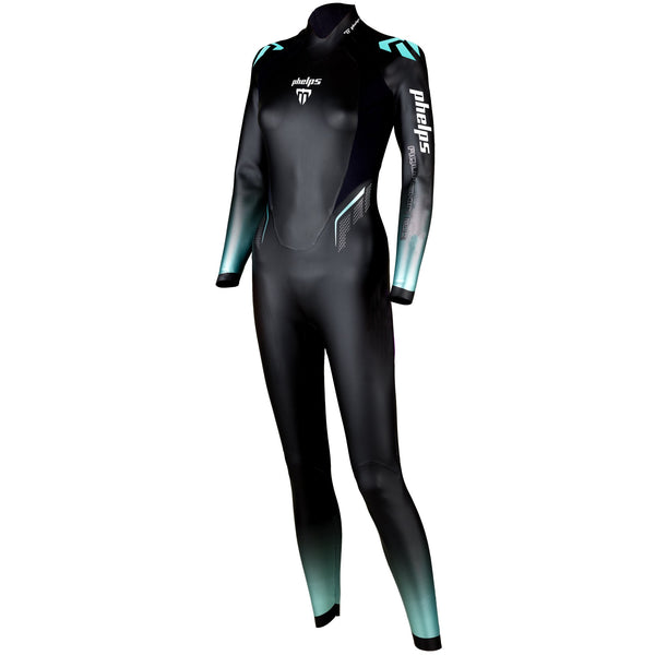 Phelps Aquaskin 2.0 Women's Swimming Wetsuit - Left Side