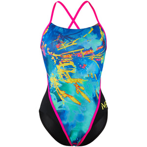 Michael Phelps Fusion Racing Back Swimsuit | Front