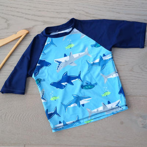 Big Fisch Shark Rash Vest