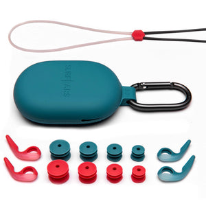 SurfEars 3.0 Ear Plugs Leash, Pouch, Ear Wings and Ear Gels