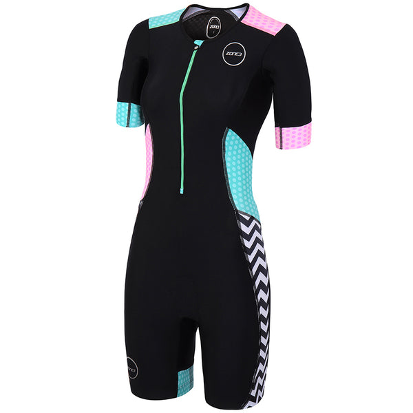 Zone3 Women's Activate Plus S/SL Tri Suit