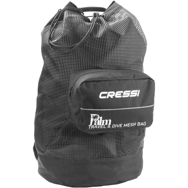 Cressi Palm Mesh Dive and Snorkelling Backpack - Back
