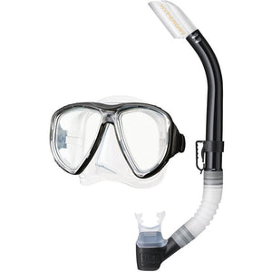 Tusa Powerview Elite Mask & Snorkel Set
