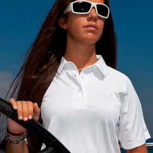Gill Ladies UV Tech Polo | Modeled