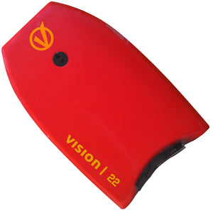 Vision Nipper Trainee Lifeguard 22 Inch Bodyboard | Front