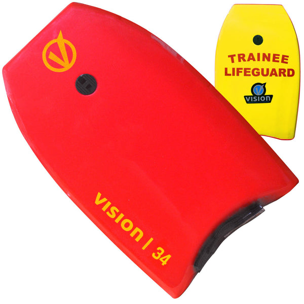 Vision Nipper Trainee Lifeguard 34 Inch Bodyboard